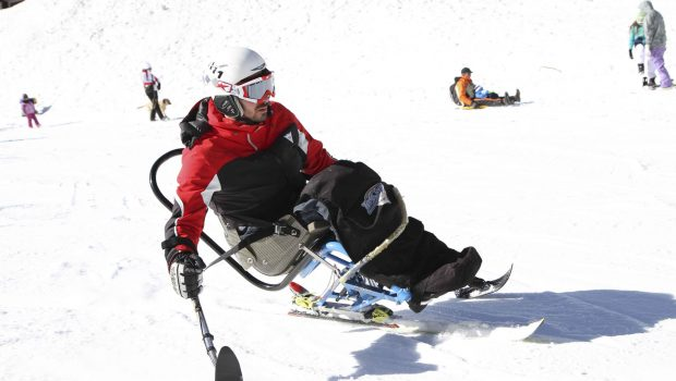Quando sciare in carrozzina diventa possibile