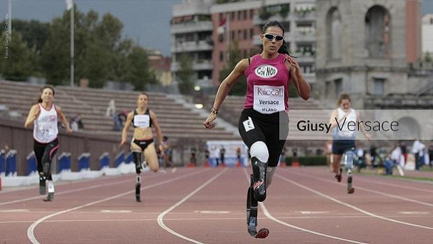 "Giusy Versace e la sua ""Disabili No Limits Onlus"""