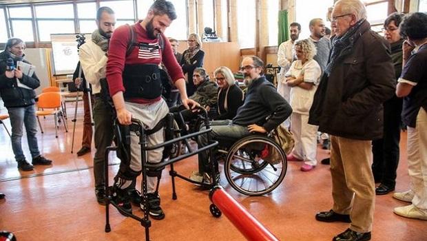 È italiano l'esoscheletro che aiuta chi ha lesioni spinali
